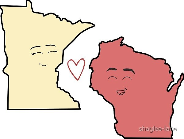Pastel Minnesota/Wisconsin Lovers by shaylee-lane