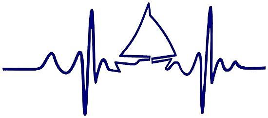 EKG Sailing Heartbeat by sailfast