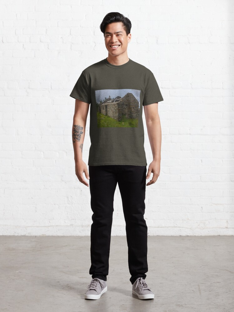 Alternate view of Stonework of a ruin Classic T-Shirt