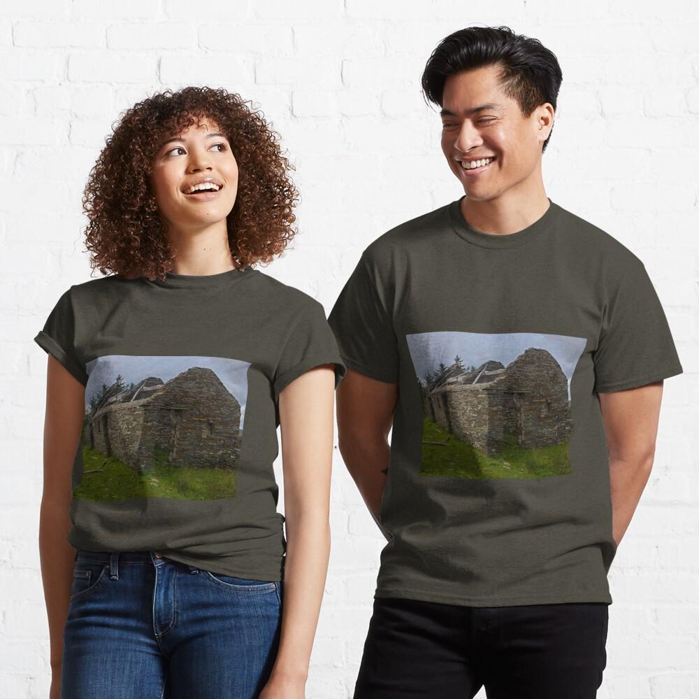 Stonework of a ruin Classic T-Shirt