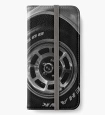 Indy 500 Black and White iPhone Wallet/Case/Skin