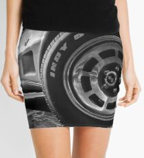 Indy 500 Black and White Mini Skirt