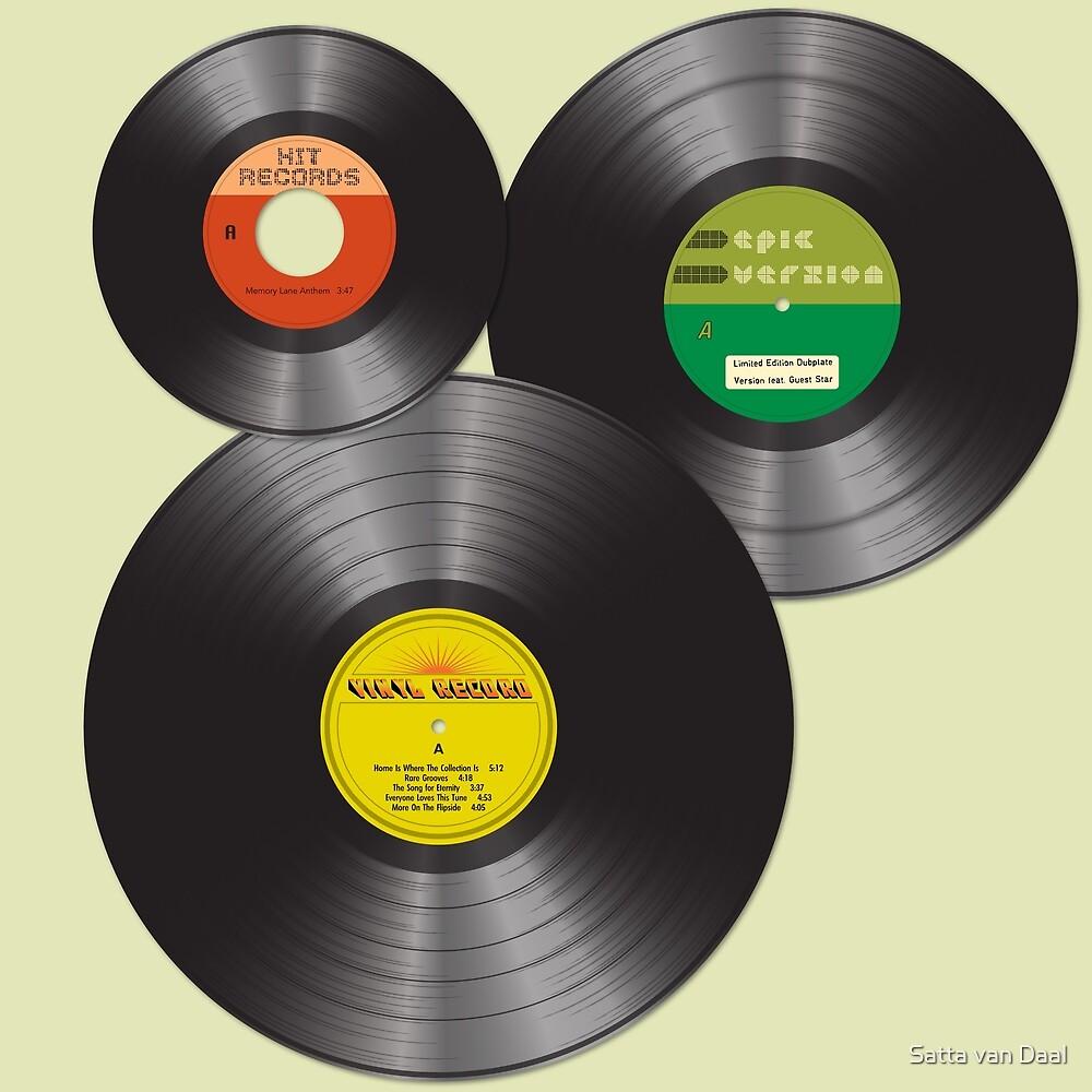 Vinyl Family by Satta van Daal