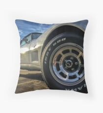 Indy 500 in Color Throw Pillow
