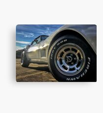 Indy 500 in Color Canvas Print