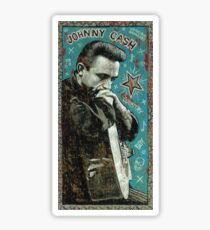 Johnny Cash Sticker