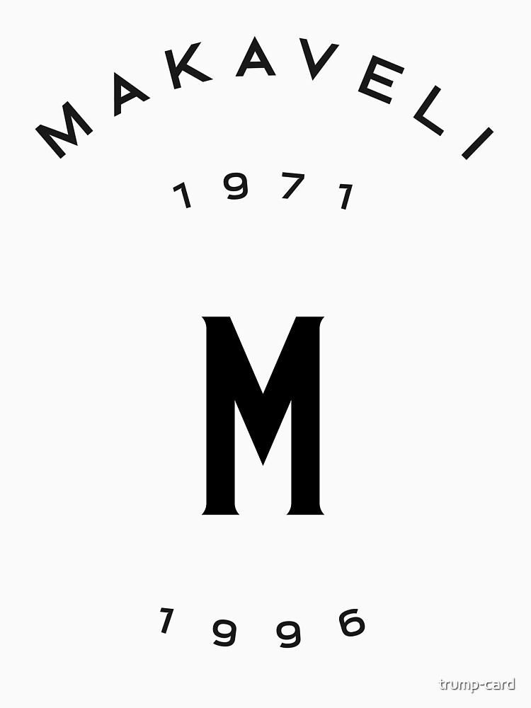 Makaveli 1971-1996 Merch by trump-card