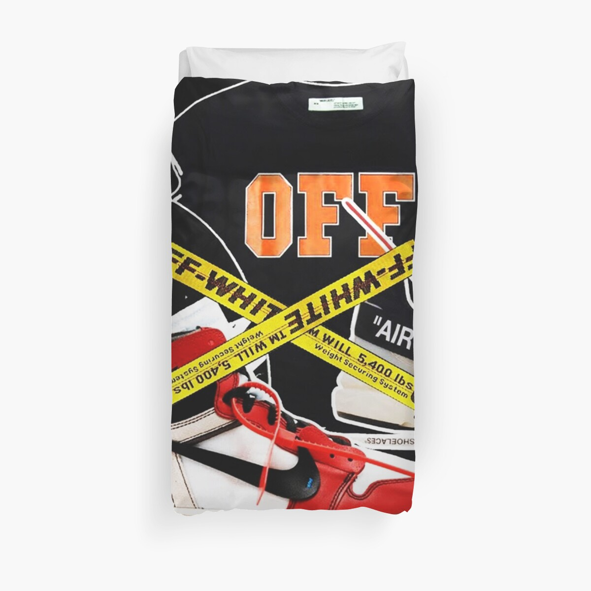 Off White Fashion Collage by maysaroh
