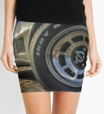 Indy 500 in Color Mini Skirt