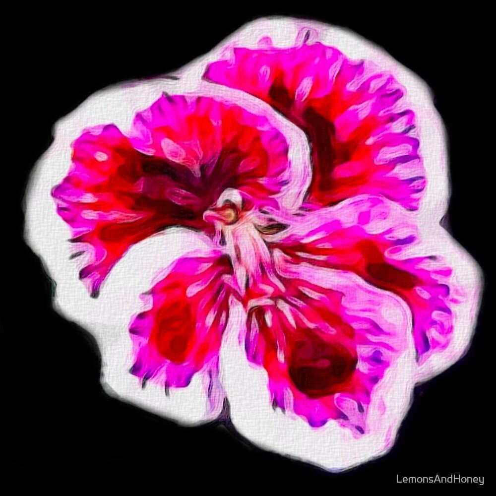 Vibrant Blossoms by LemonsAndHoney