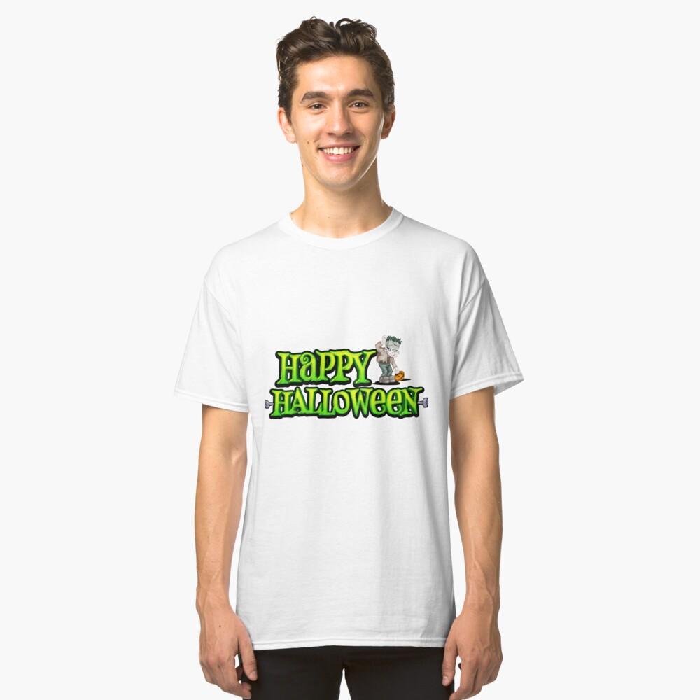 Awesome Halloween Fun t-shirt Classic T-Shirt Front