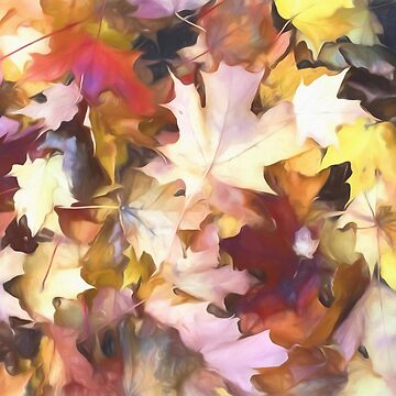 Fall leaves Bright by bloomingvine