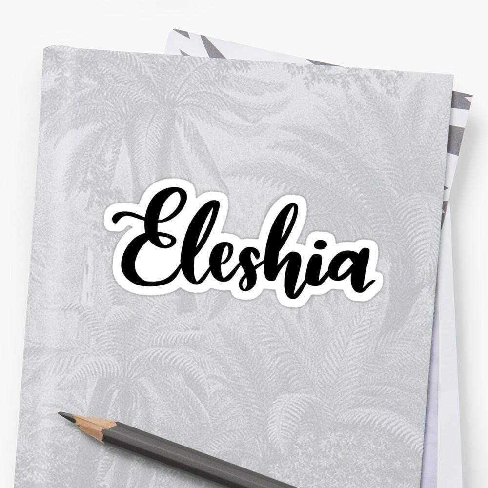 Eleshia by ellietography