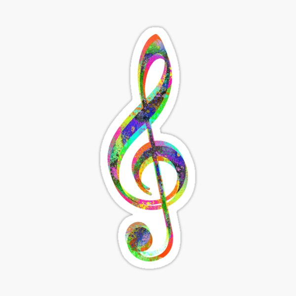 Musical colors Sticker