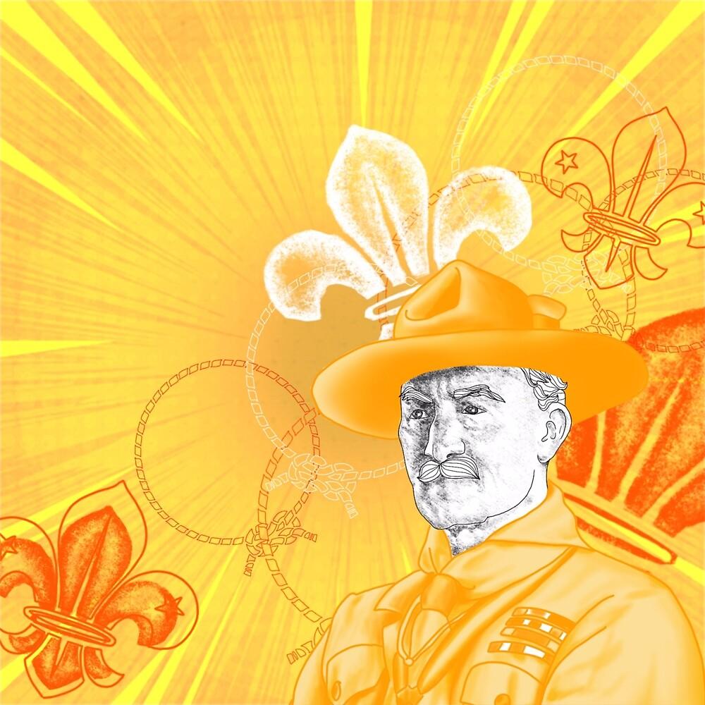 Baden Powell Portrait by AbbieRaw