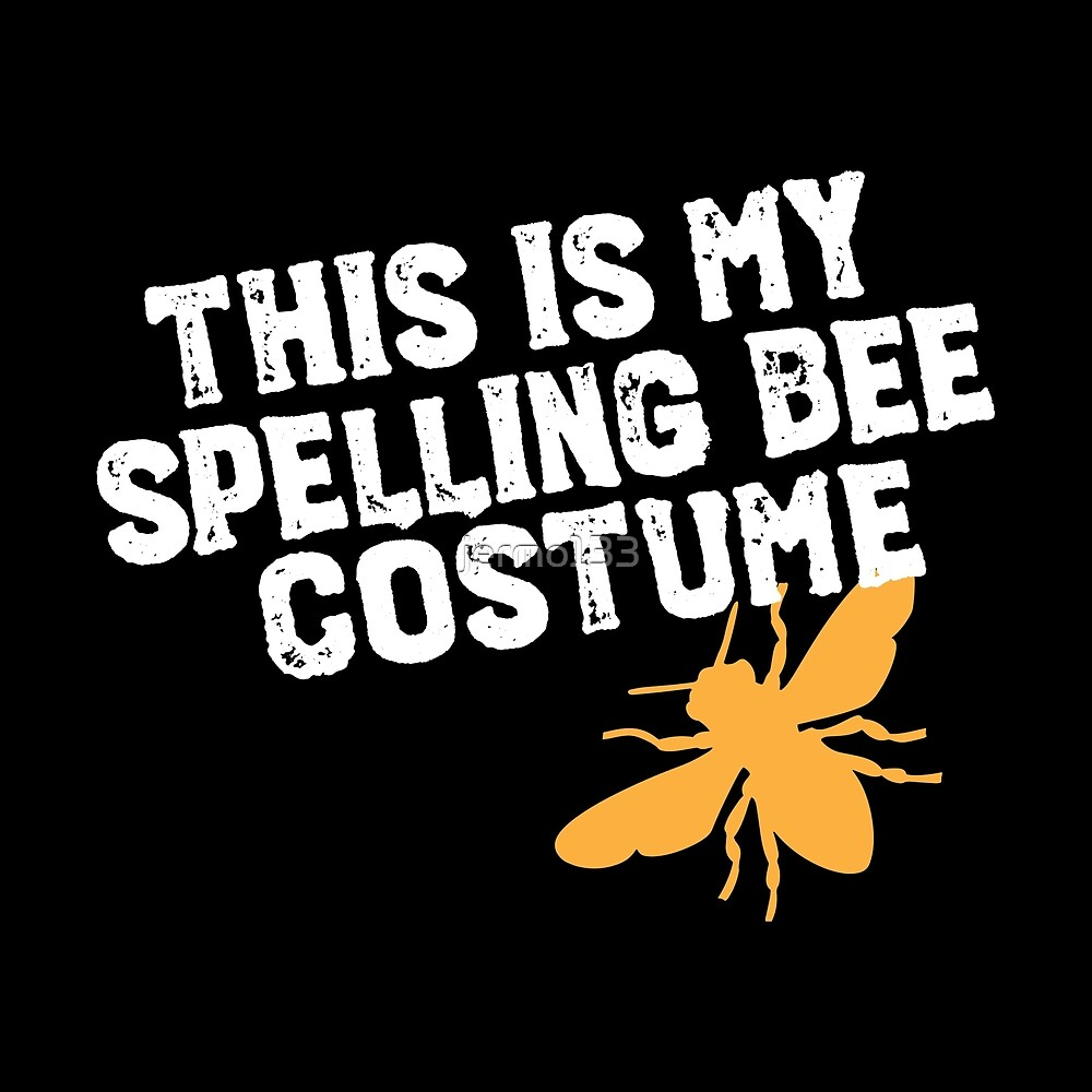 This Is My Spelling Bee Costume Funny Beekeeping Art For Halloween Apairist by jermo133