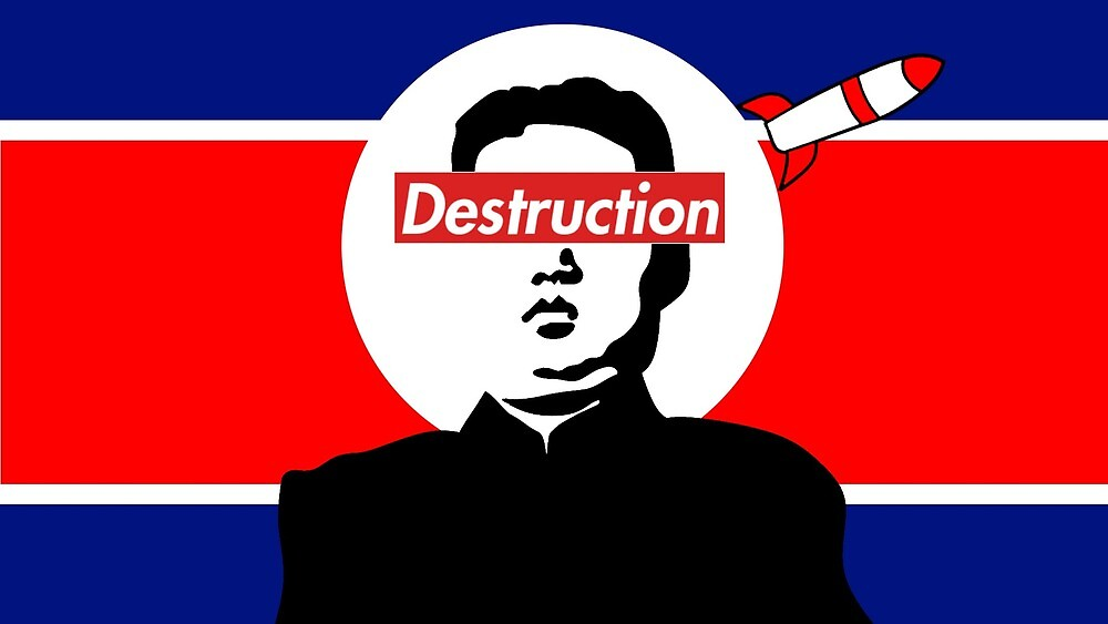 """""""Destruction"""" The Kim Jong Un/ Supreme collection by numptynick"""
