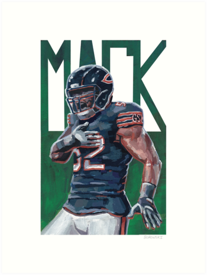 Khalil Mack by thomasborowski