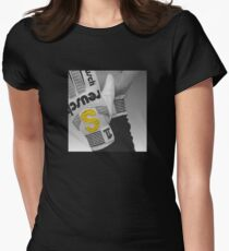"""The """"S"""" Glove Women's Fitted T-Shirt"""
