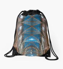 St. Mary's basilica in Krakow, Poland Drawstring Bag