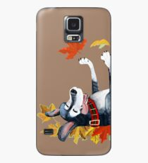September Angel - Brown Funda/vinilo para Samsung Galaxy
