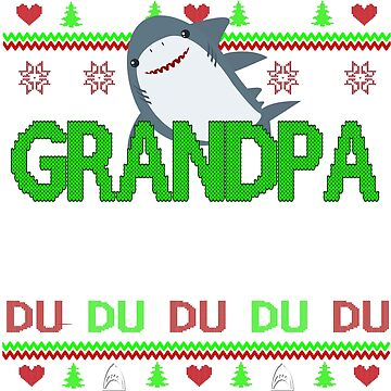 grandpa shark by ZEETEESAPPAREL