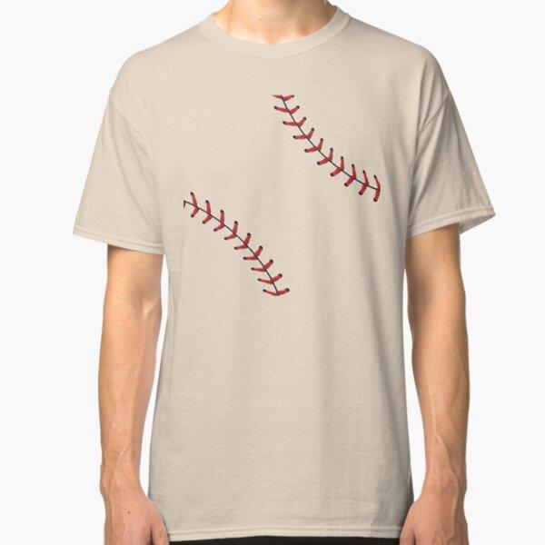 Baseball Lace Background 5 Classic T-Shirt