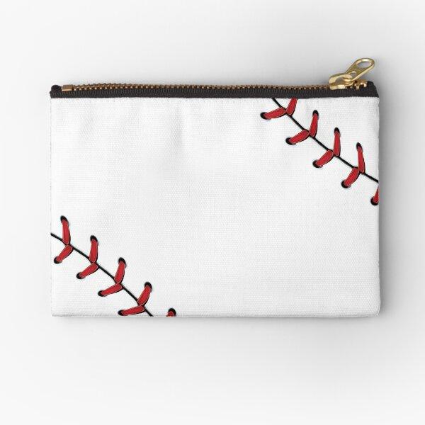 Baseball Lace stitches Zipper Pouch