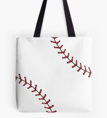 Baseball Lace Background 5 Tote Bag
