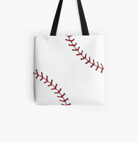 Baseball Lace Background 5 All Over Print Tote Bag