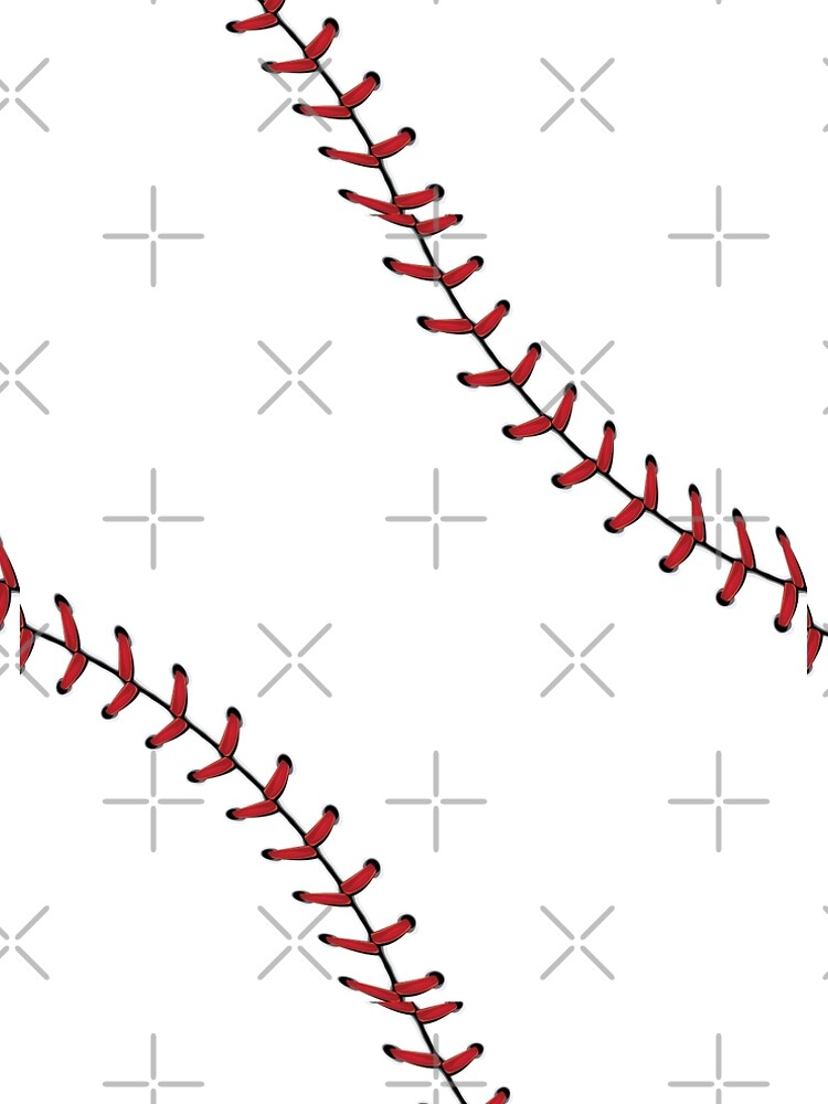 Baseball Lace stitches by AnnArtshock