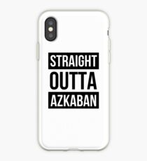 Straight outta Azkaban iPhone Case