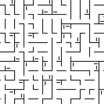 Pattern | Maze lines by swisscreation