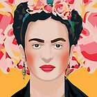 Frida naranja by Yellow-Studio