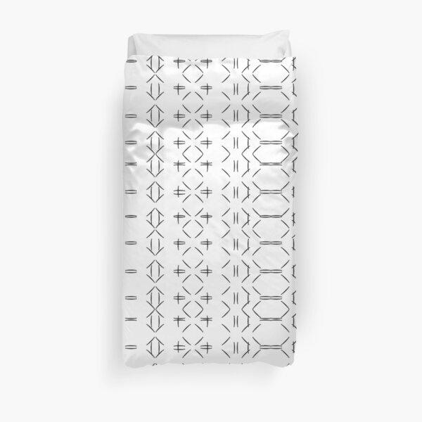 Simple geometric pattern 02 Duvet Cover
