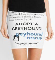 Greyhound Definition Mini Skirt