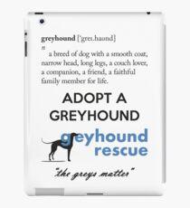 Greyhound Definition iPad Case/Skin
