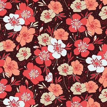 Coral flower pattern by lents
