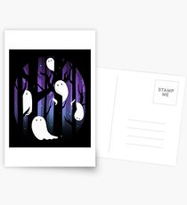 Ghosts in the Forest Postcards