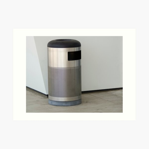 Airport Trash Can Art Print