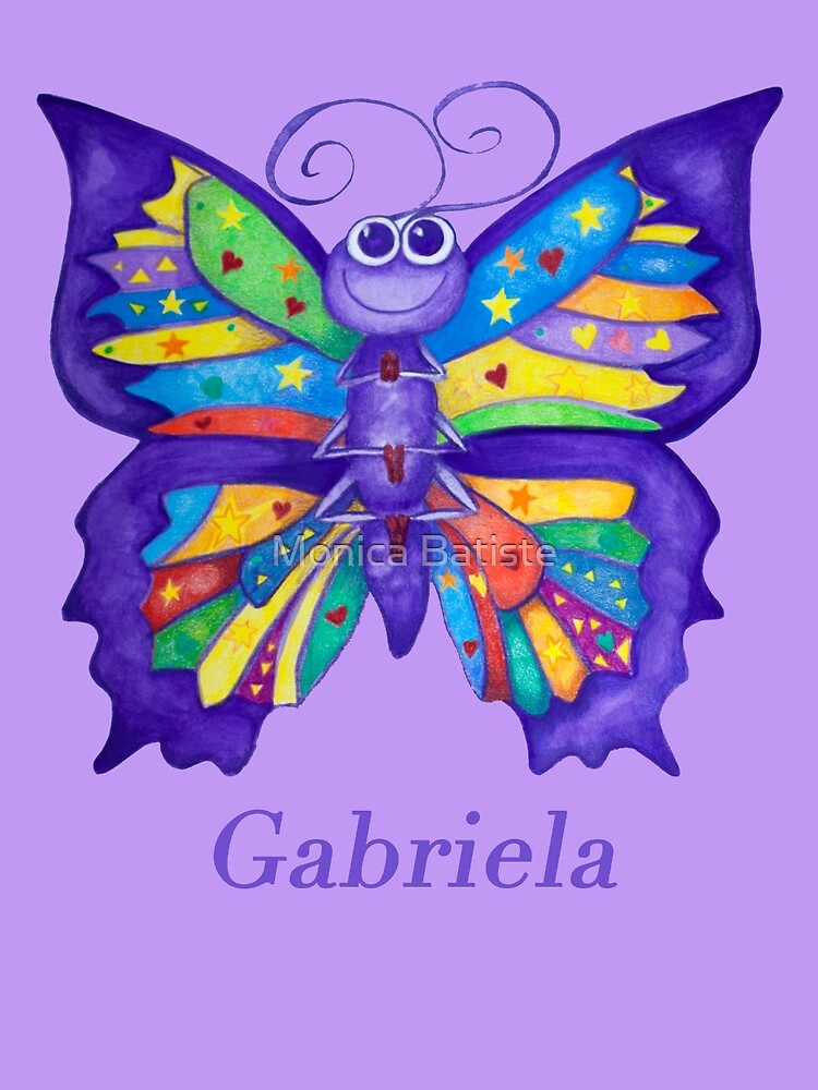 A Yoga Butterfly for Gabriela by Monica Batiste