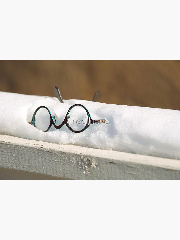 Glasses in the Snow by redwave