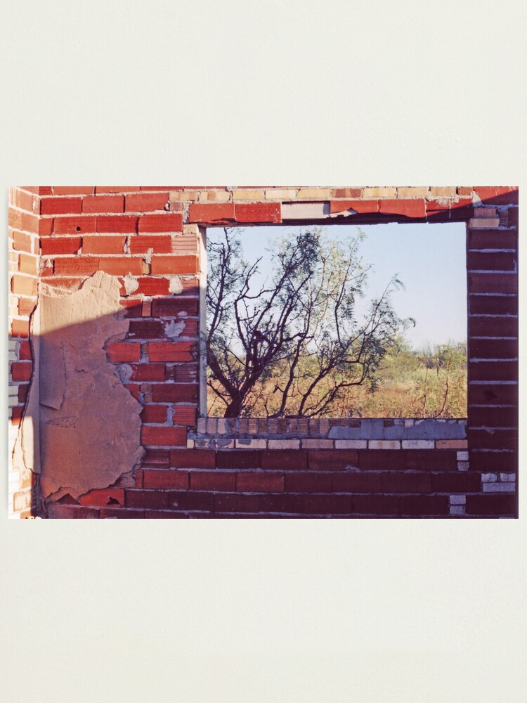 Alternate view of Abandoned Window Photographic Print