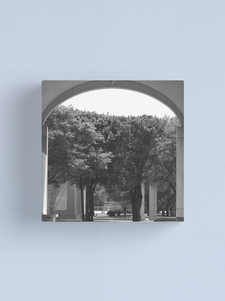Alternate view of Kimbell Art Museum Arch Canvas Print