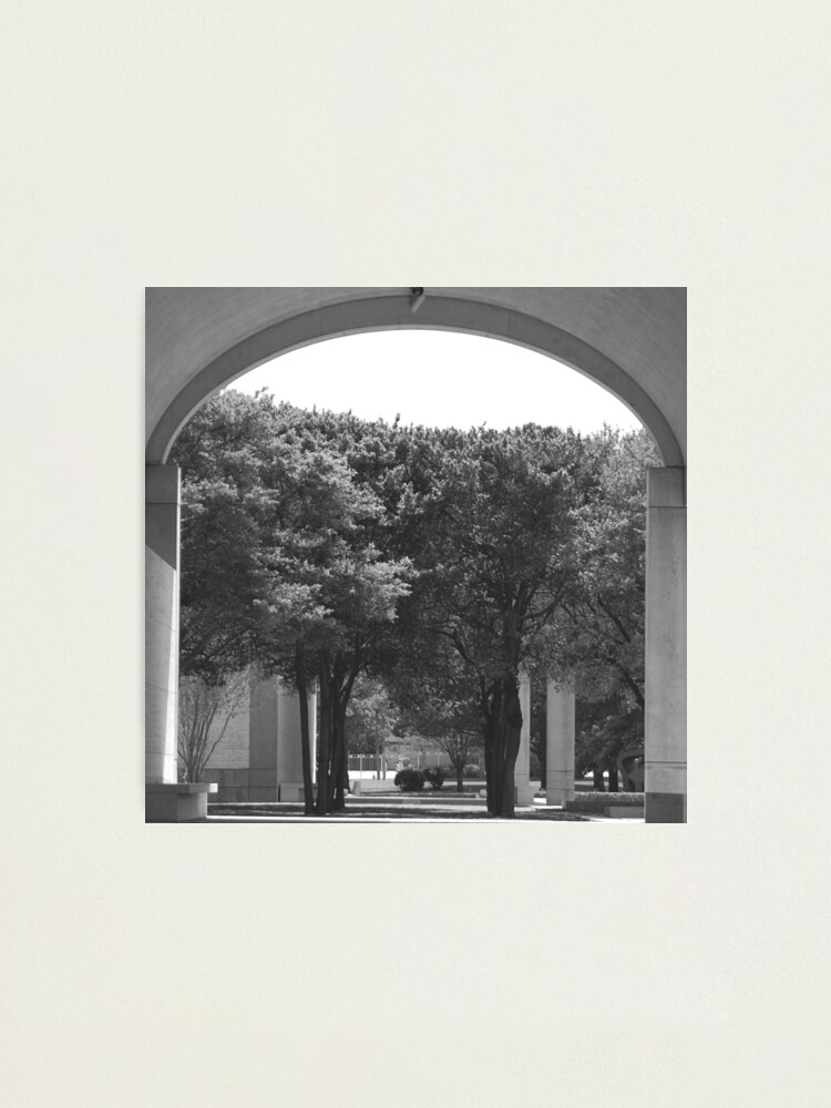 Alternate view of Kimbell Art Museum Arch Photographic Print