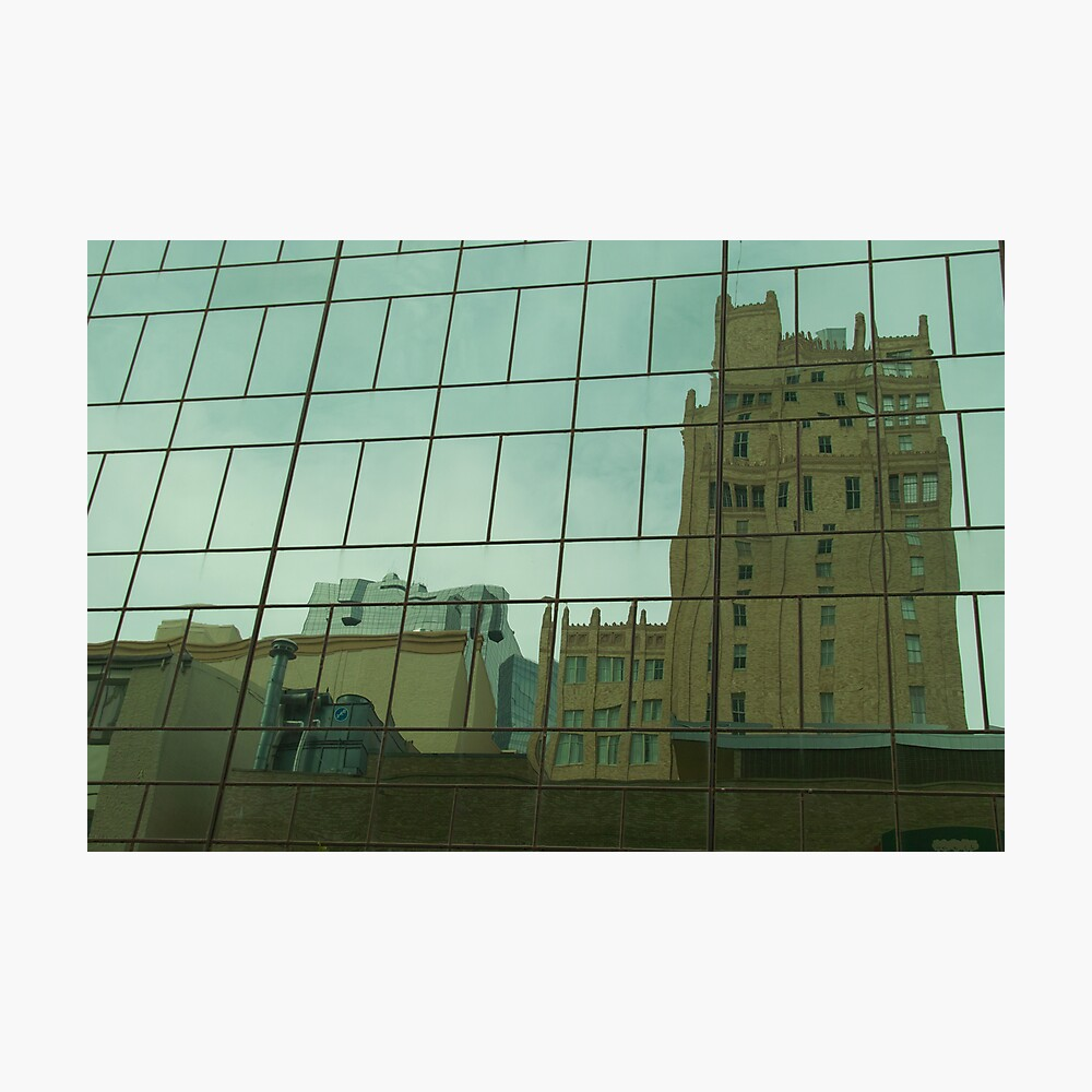 Buildings in Glass Photographic Print