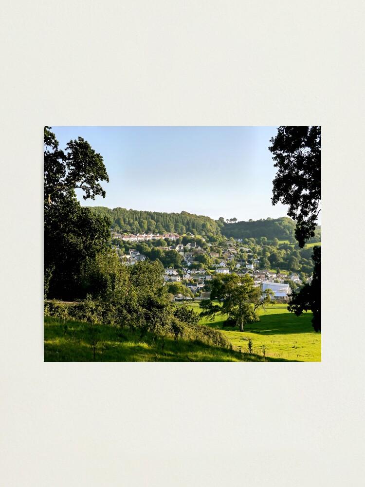 Alternate view of Lyme Regis Landscape Photographic Print