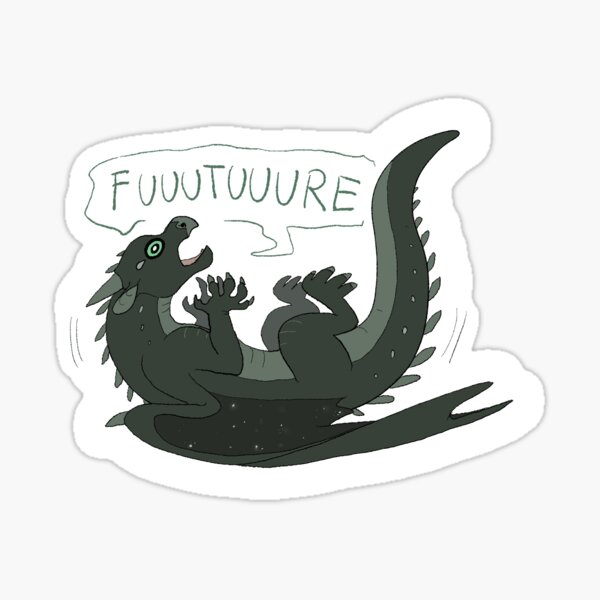 Wings of Fire - Moonwatcher (paniquer) Sticker