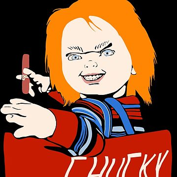 Chucky holding tabacco  by MimieTrouvetou