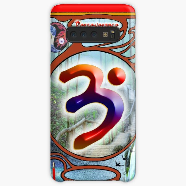The Language of Light Symbol of Perseverance.  Samsung Galaxy Snap Case